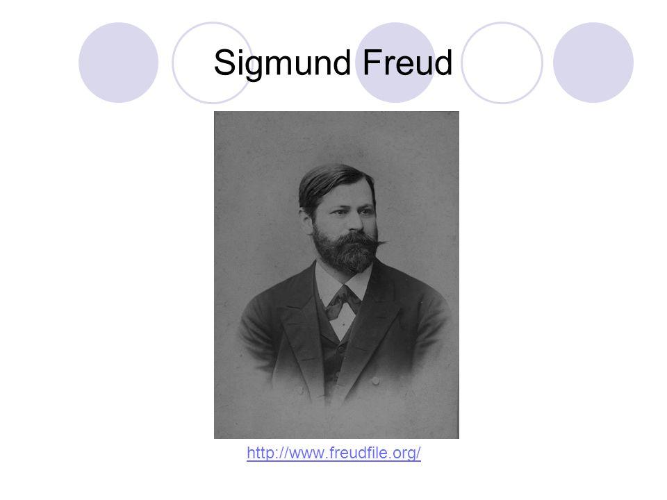 Sigmund Freud http://www.freudfile.org/