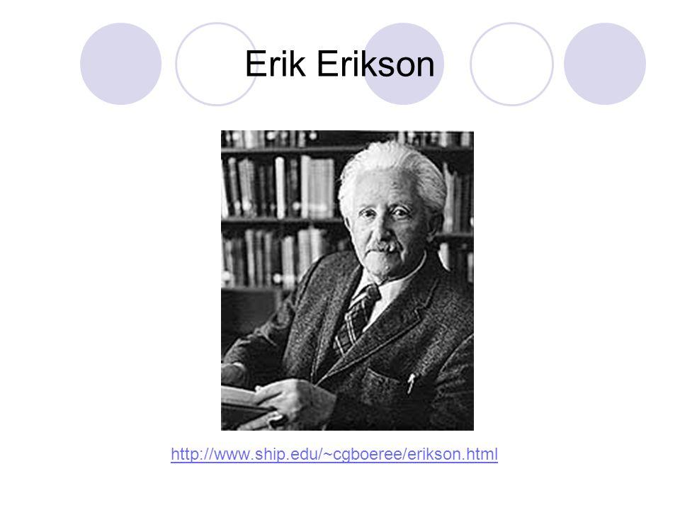 Erik Erikson http://www.ship.edu/~cgboeree/erikson.html