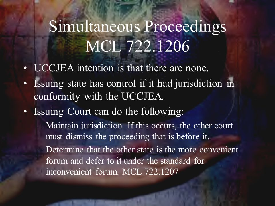 Simultaneous Proceedings MCL