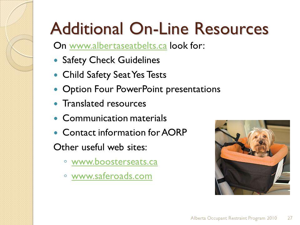 Additional On-Line Resources