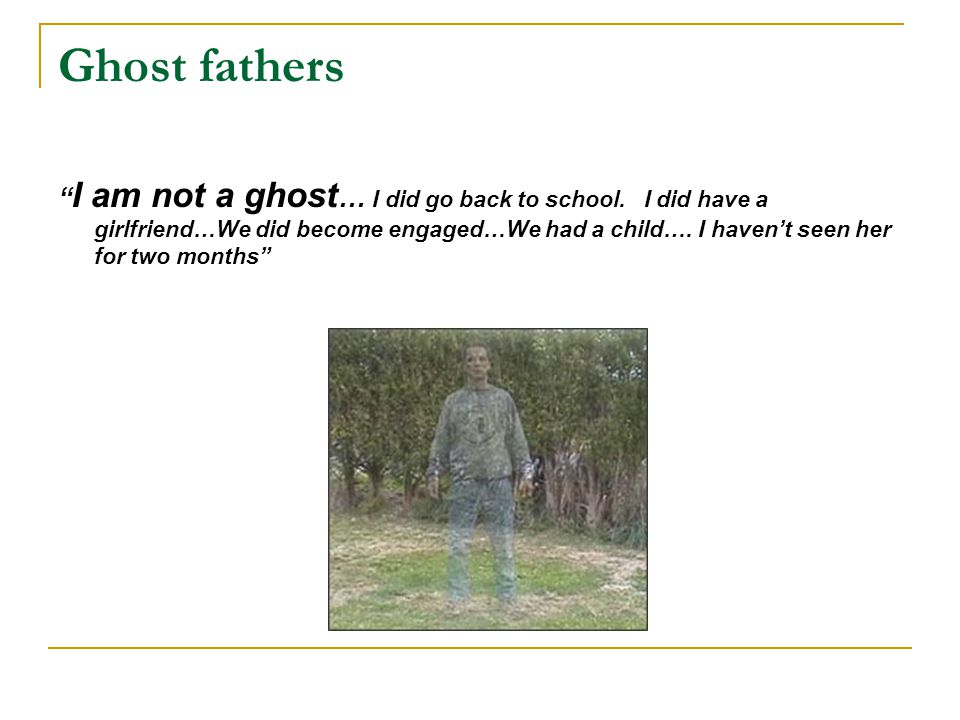 Ghost fathers