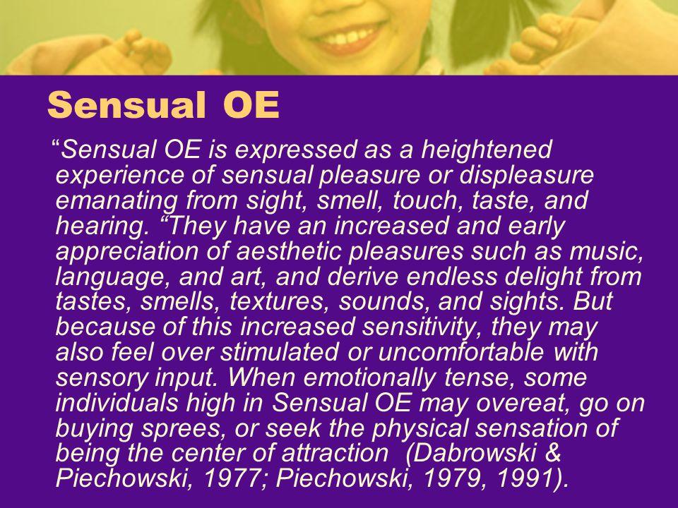 Sensual OE