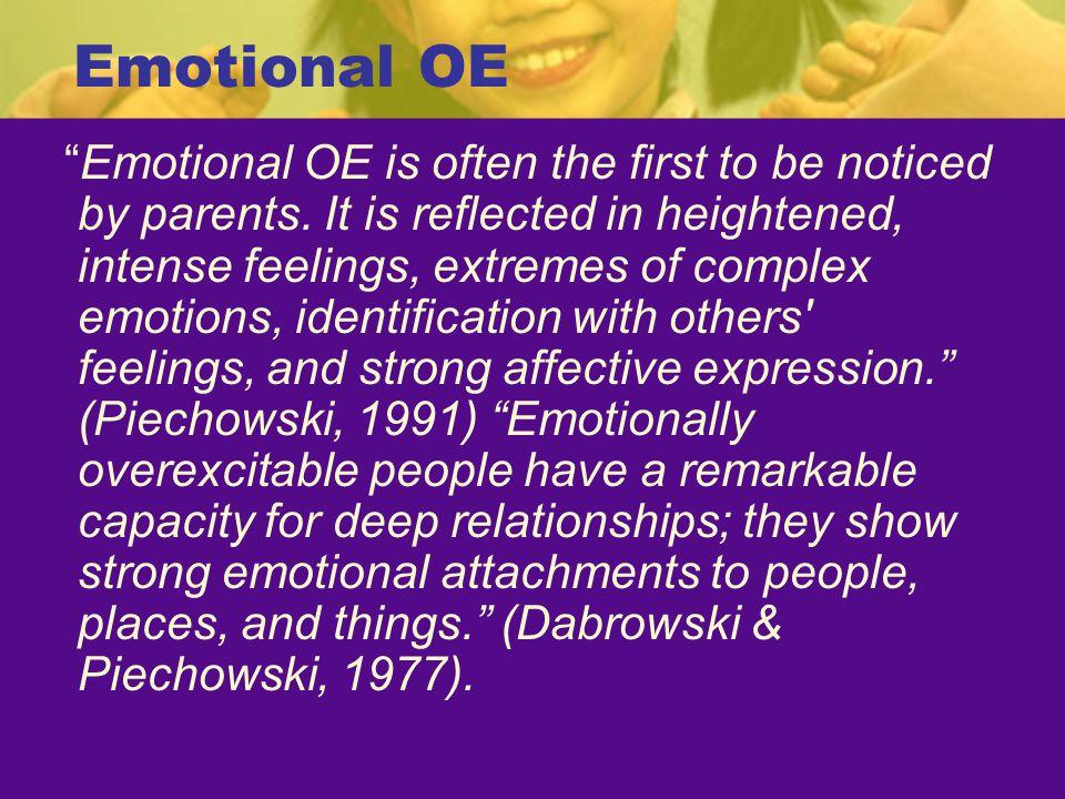 Emotional OE