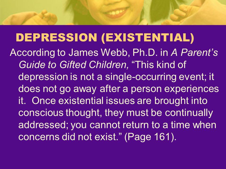 DEPRESSION (EXISTENTIAL)