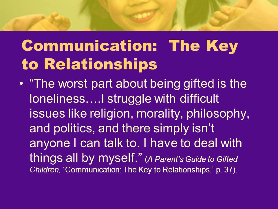 Communication: The Key to Relationships