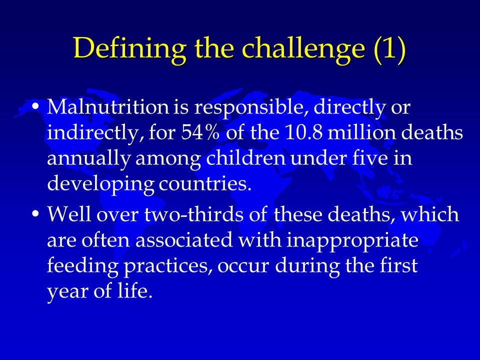 Defining the challenge (1)
