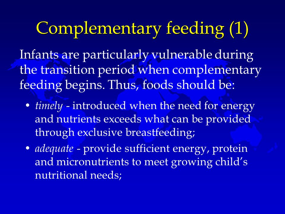 Complementary feeding (1)