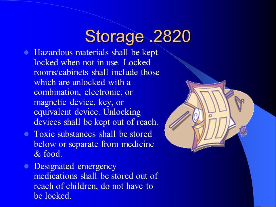 Storage .2820
