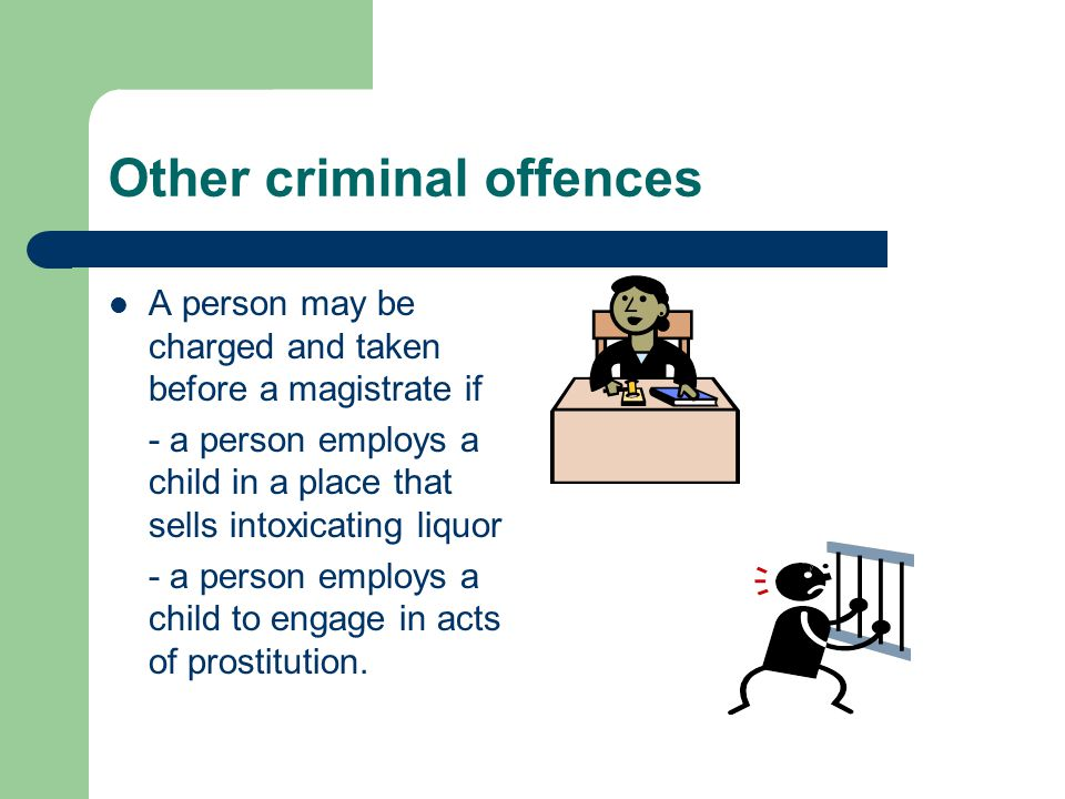 Other criminal offences