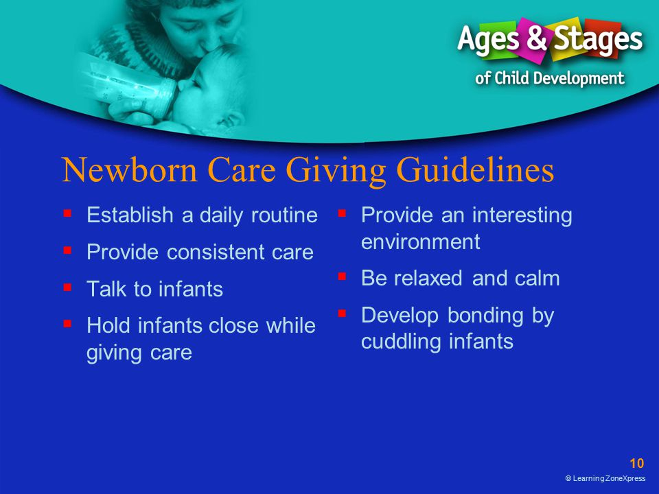 Newborn Care Giving Guidelines