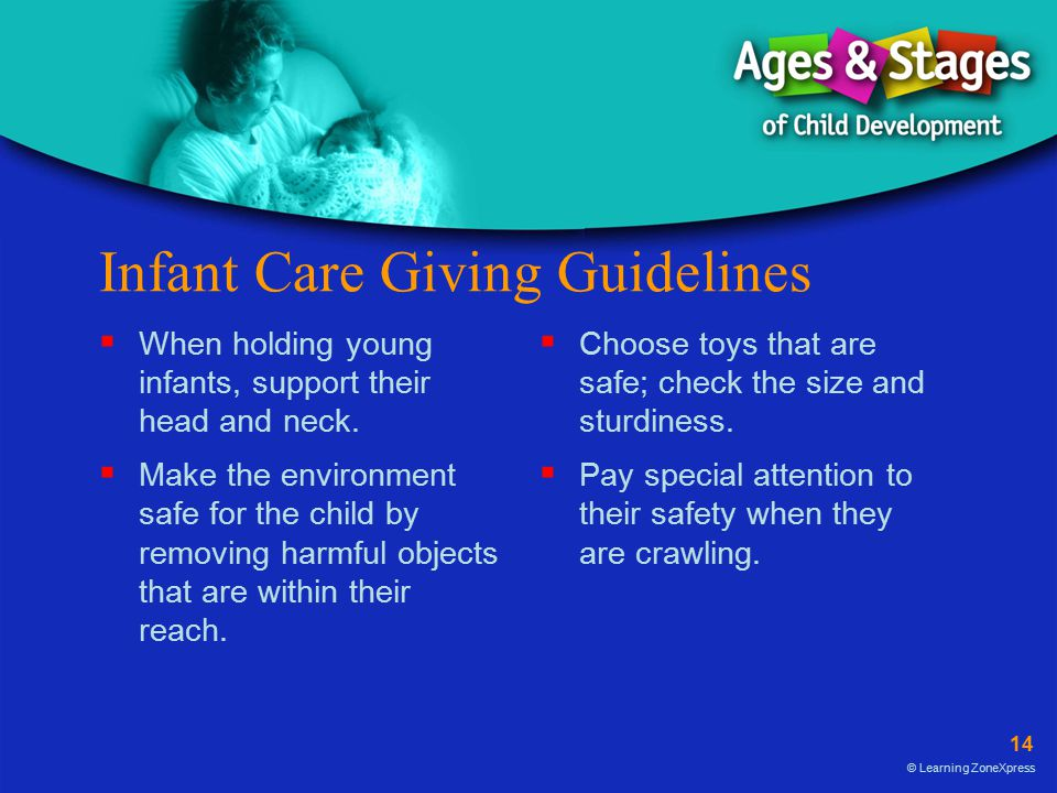 Infant Care Giving Guidelines