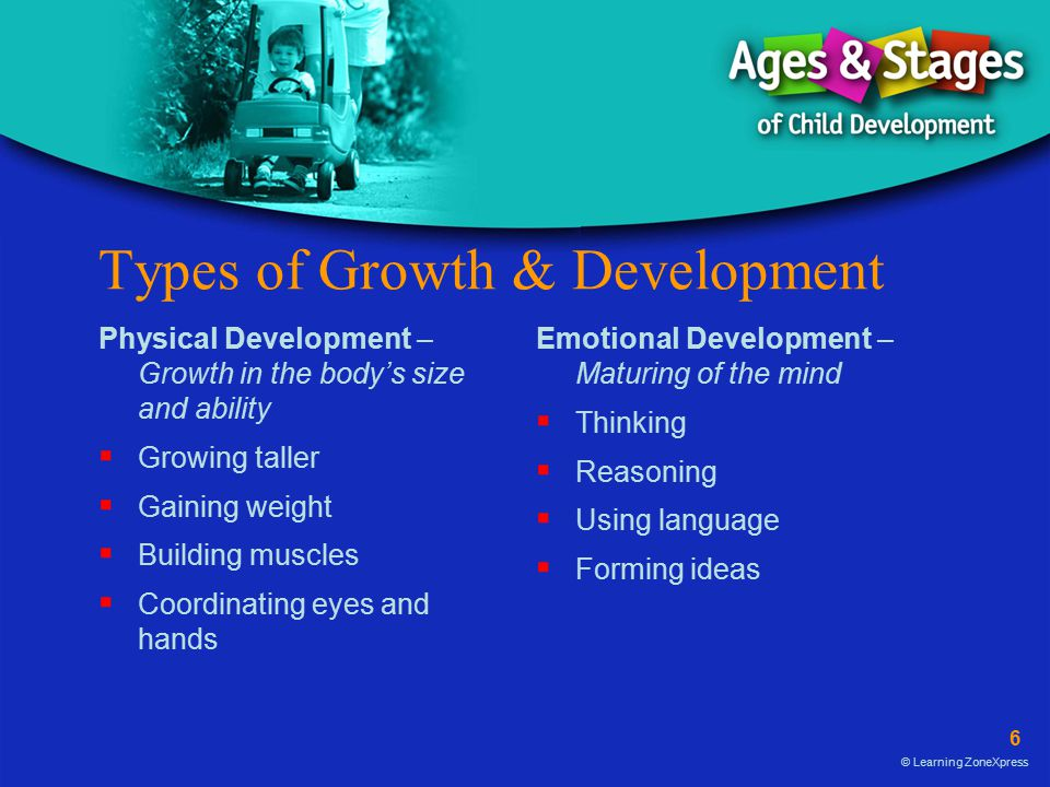 Types of Growth & Development