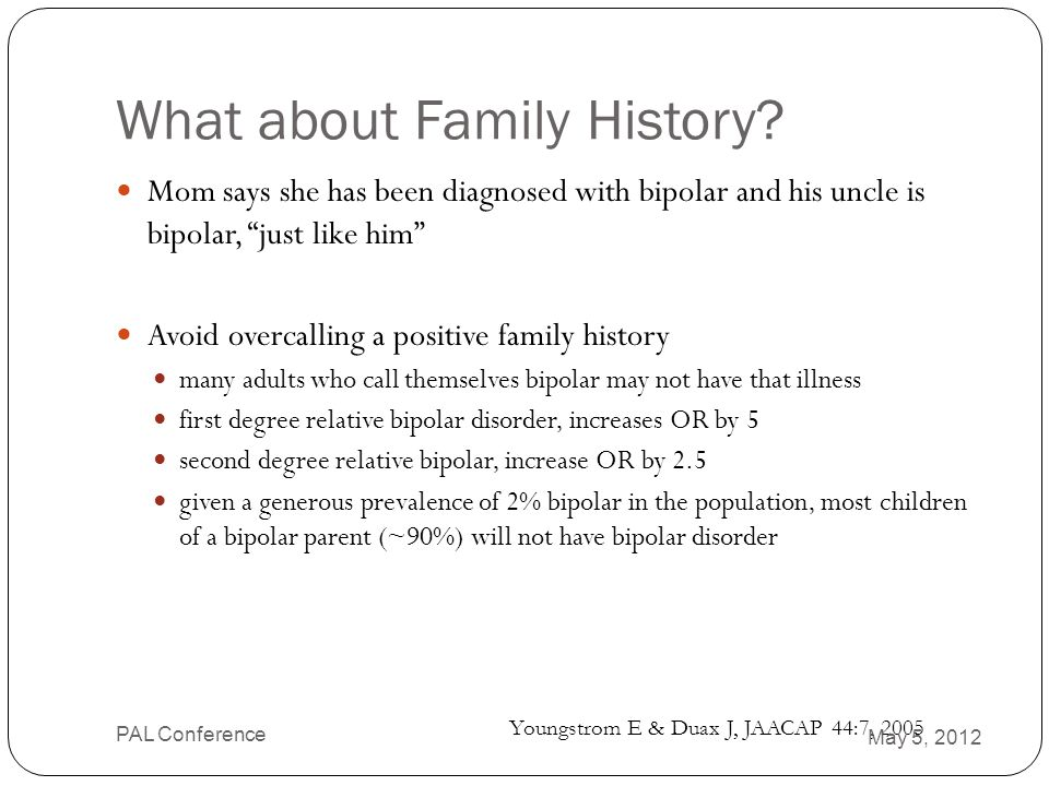 What about Family History