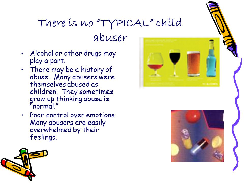 There is no TYPICAL child abuser