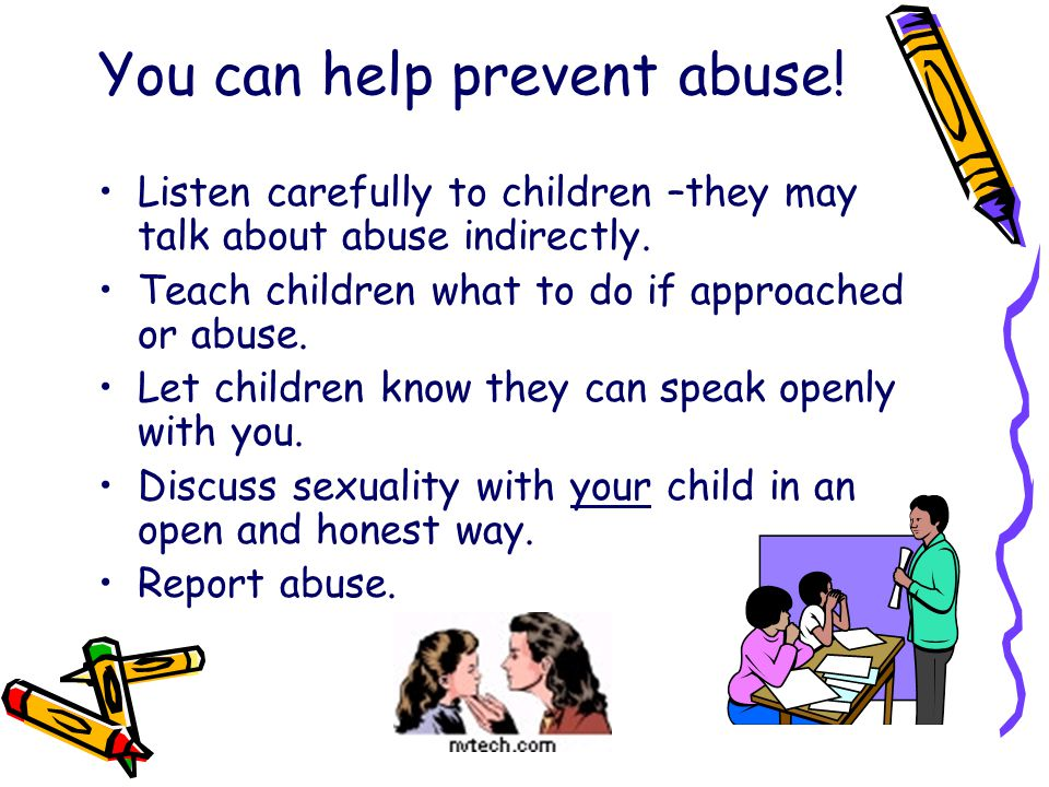 You can help prevent abuse!