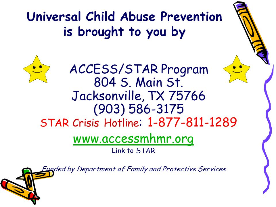 Universal Child Abuse Prevention is brought to you by