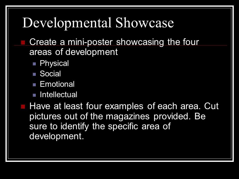 Developmental Showcase