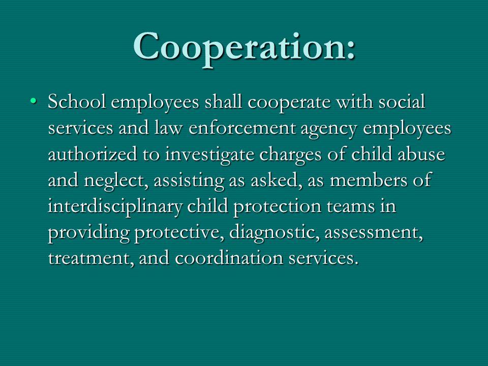 Cooperation: