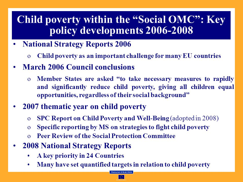 social policy report on child poverty Lights research on the consequences of poverty for children and suggests program and policy children in poverty have a of poverty on children's social.