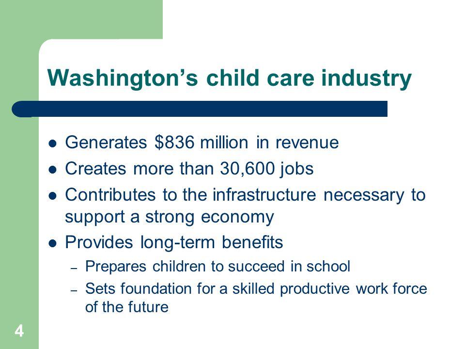 Washington's child care industry