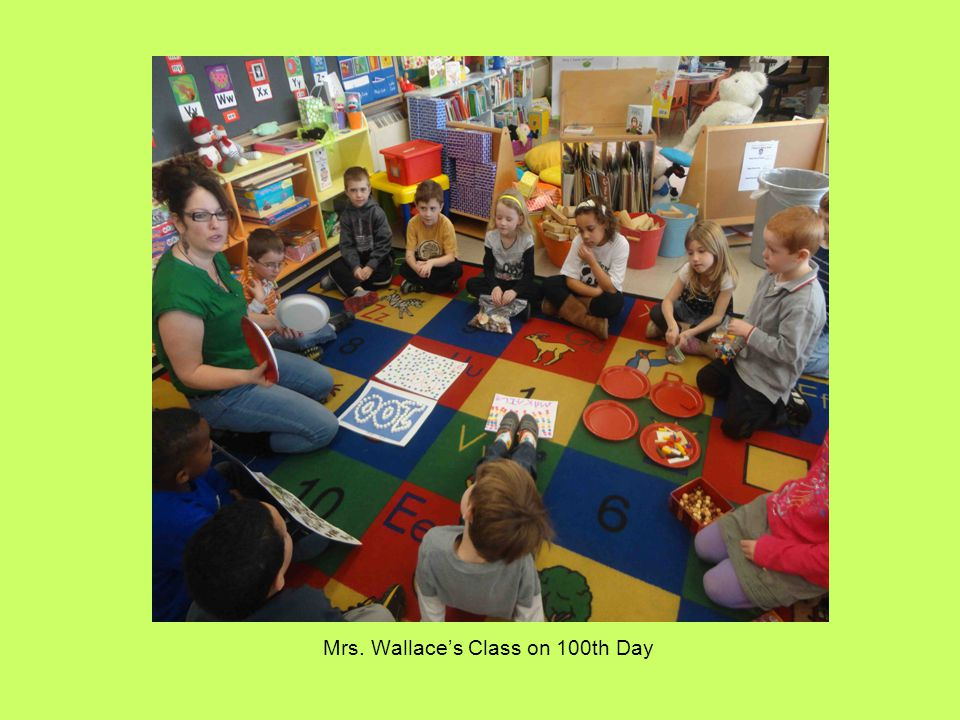 Mrs. Wallace's Class on 100th Day