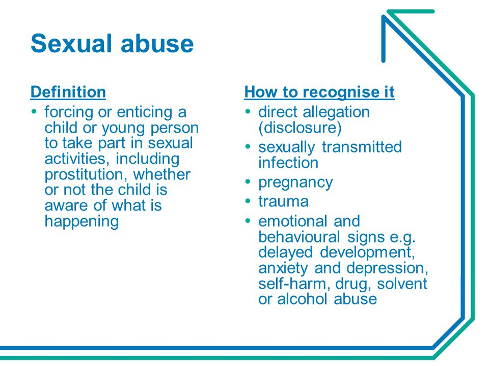 Sexual abuse Definition