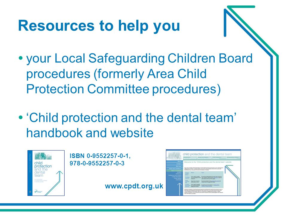 Resources to help you your Local Safeguarding Children Board procedures (formerly Area Child Protection Committee procedures)