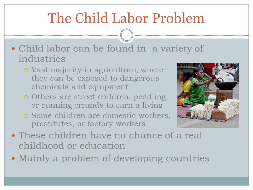 The Child Labor Problem