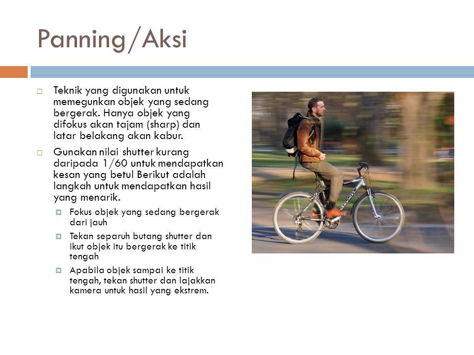 Panning/Aksi