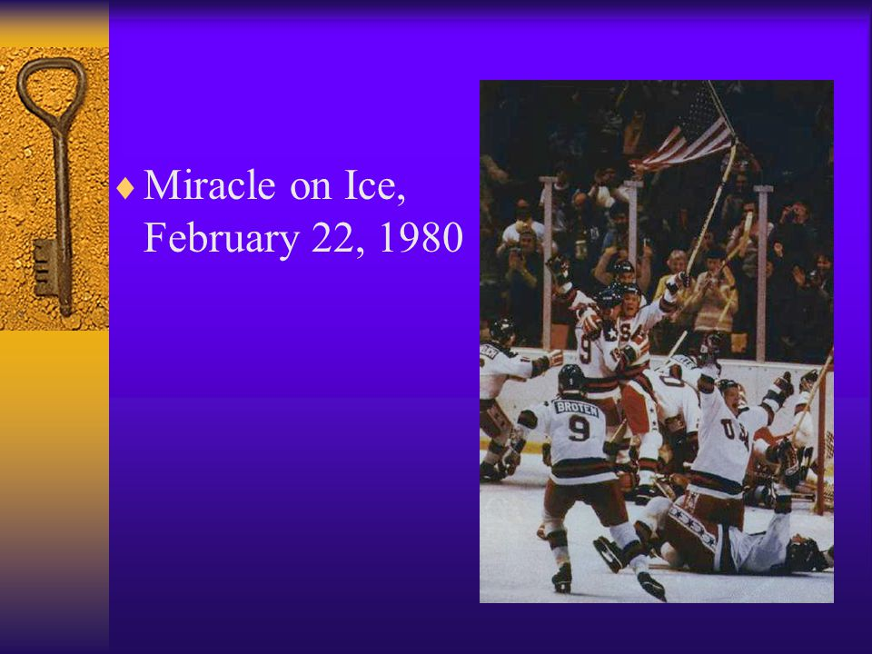 Miracle on Ice, February 22, 1980