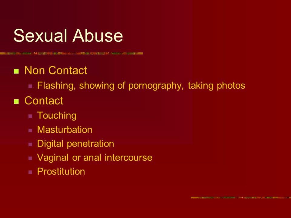 Sexual Abuse Non Contact Contact
