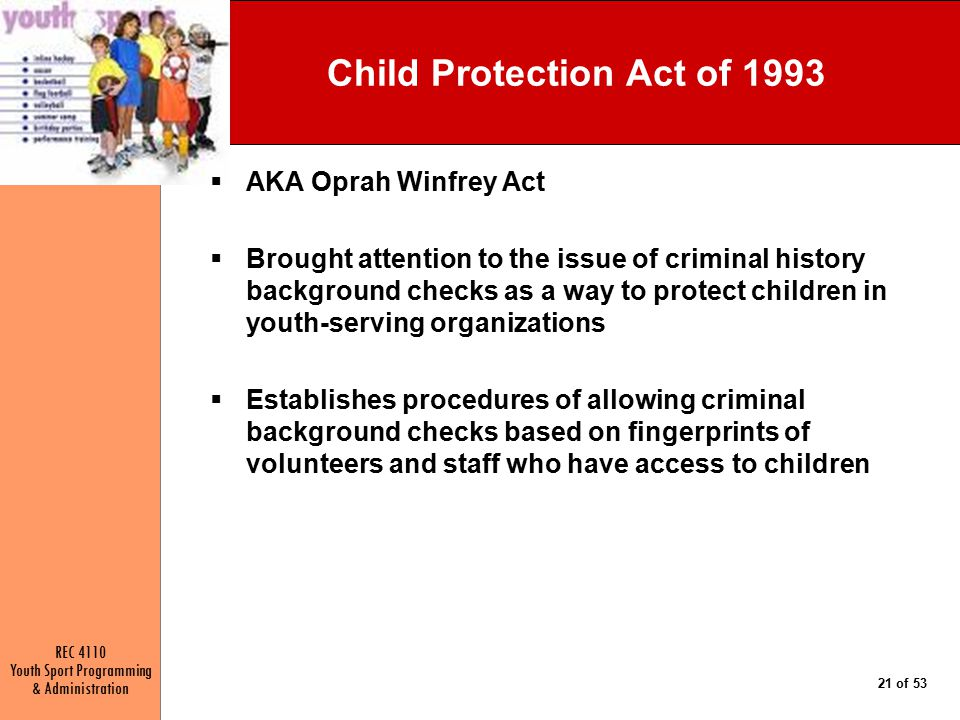 Child Protection Act of 1993