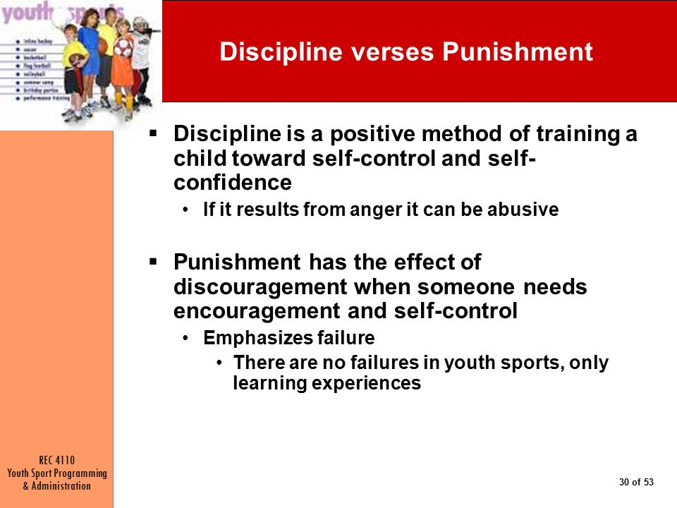 Discipline verses Punishment