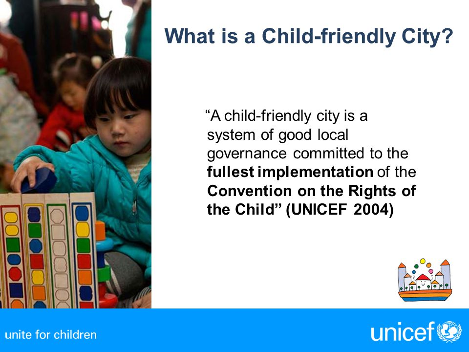 What is a Child-friendly City