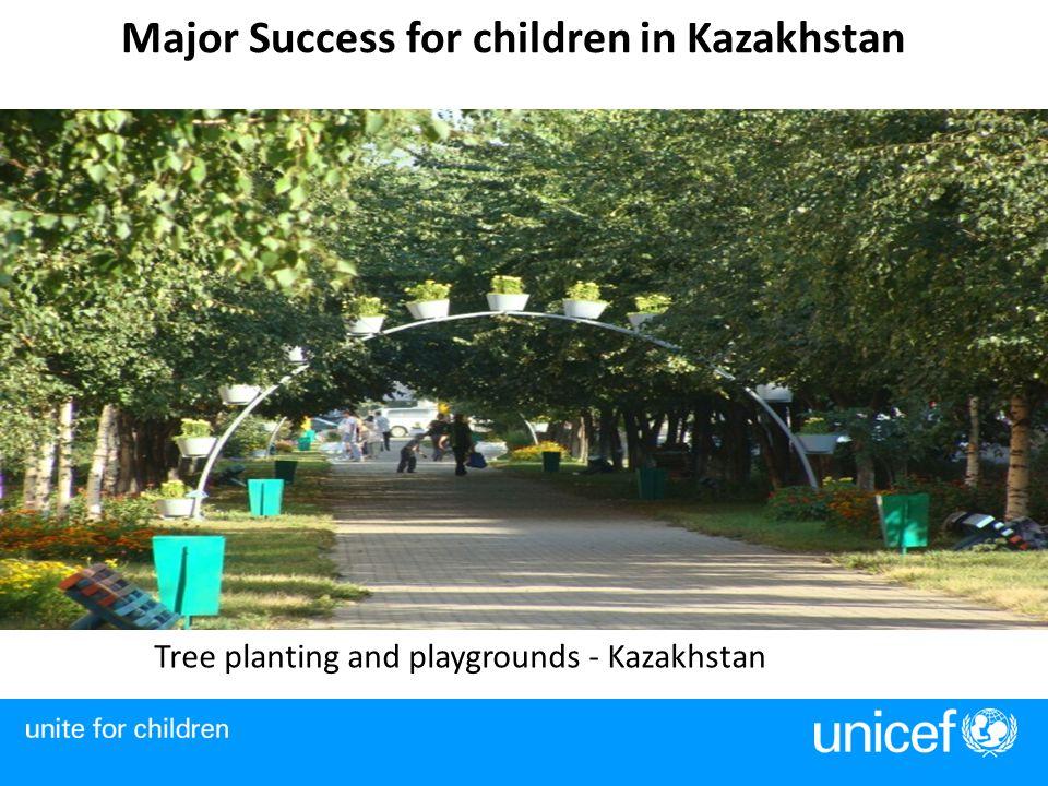 Major Success for children in Kazakhstan