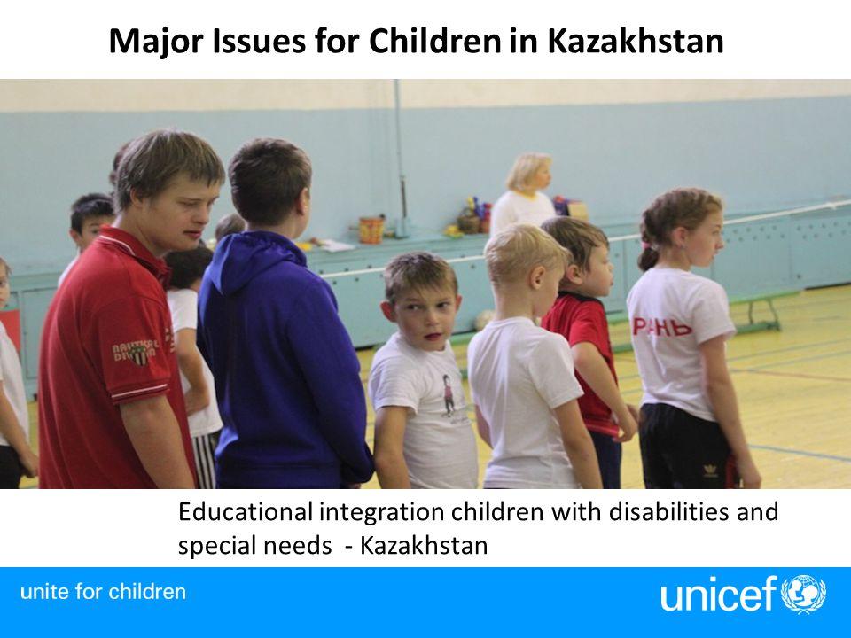 Major Issues for Children in Kazakhstan