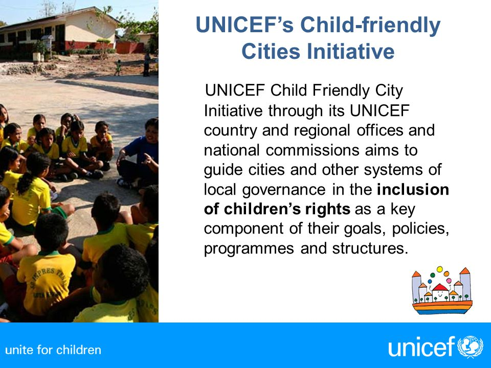 UNICEF's Child-friendly Cities Initiative