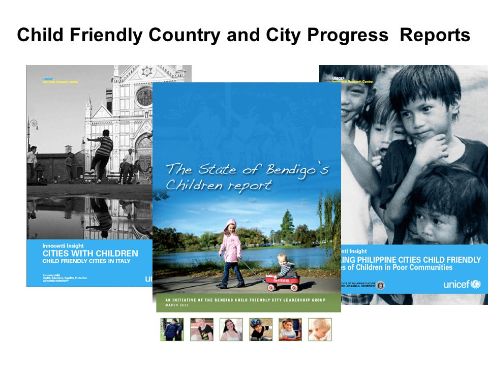 Child Friendly Country and City Progress Reports
