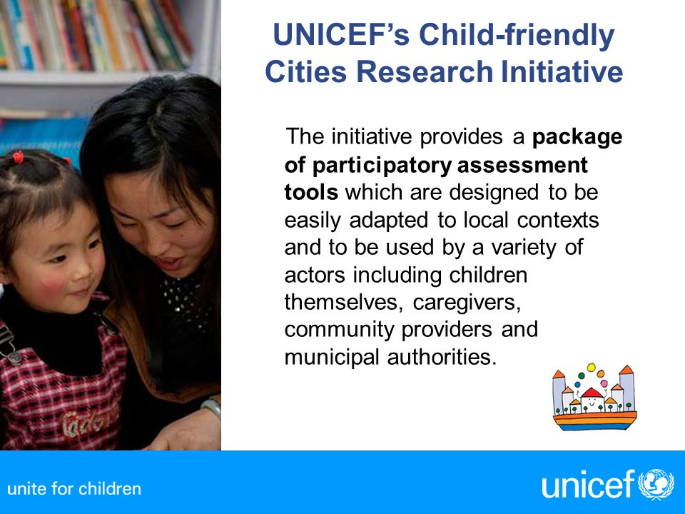 UNICEF's Child-friendly Cities Research Initiative