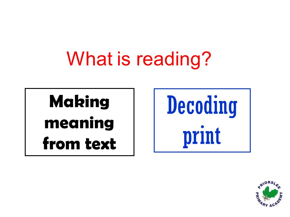 Making meaning from text