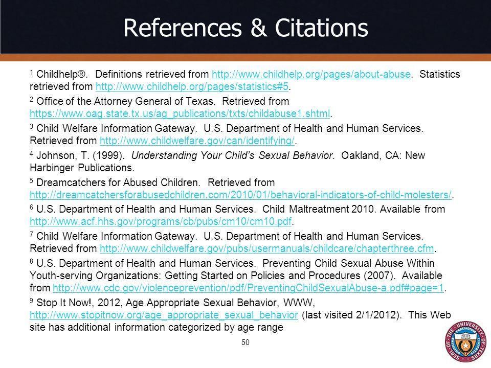 References & Citations