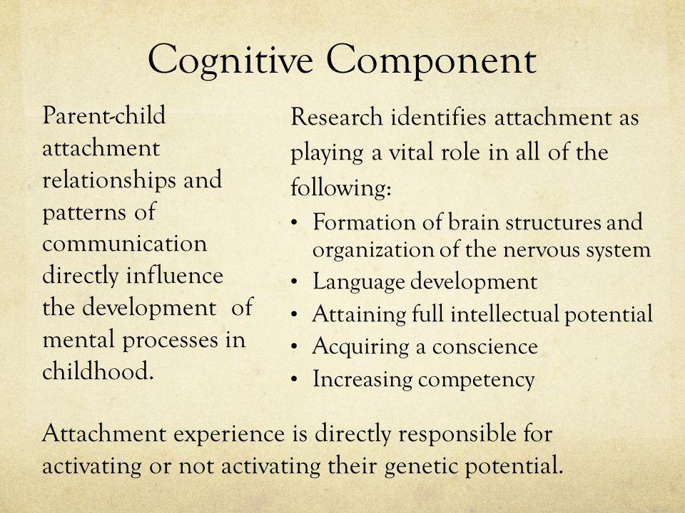 Cognitive Component