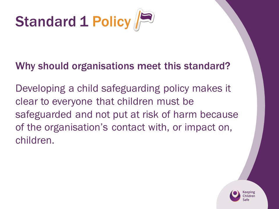 Standard 1 Policy