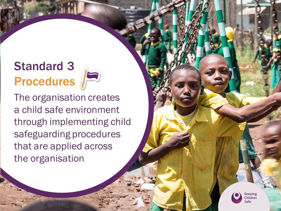 Standard 3 Procedures