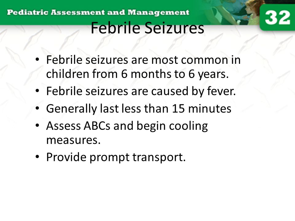 febrile seizures Answers to common questions on febrile seizures, as well as the signs and symptoms that may indicate the need for a neurology evaluation.