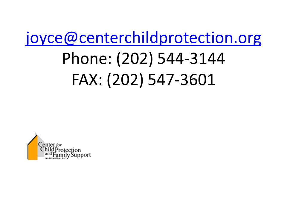 joyce@centerchildprotection