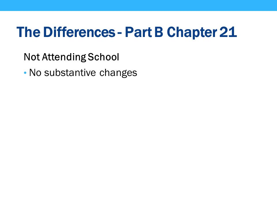 The Differences - Part B Chapter 21