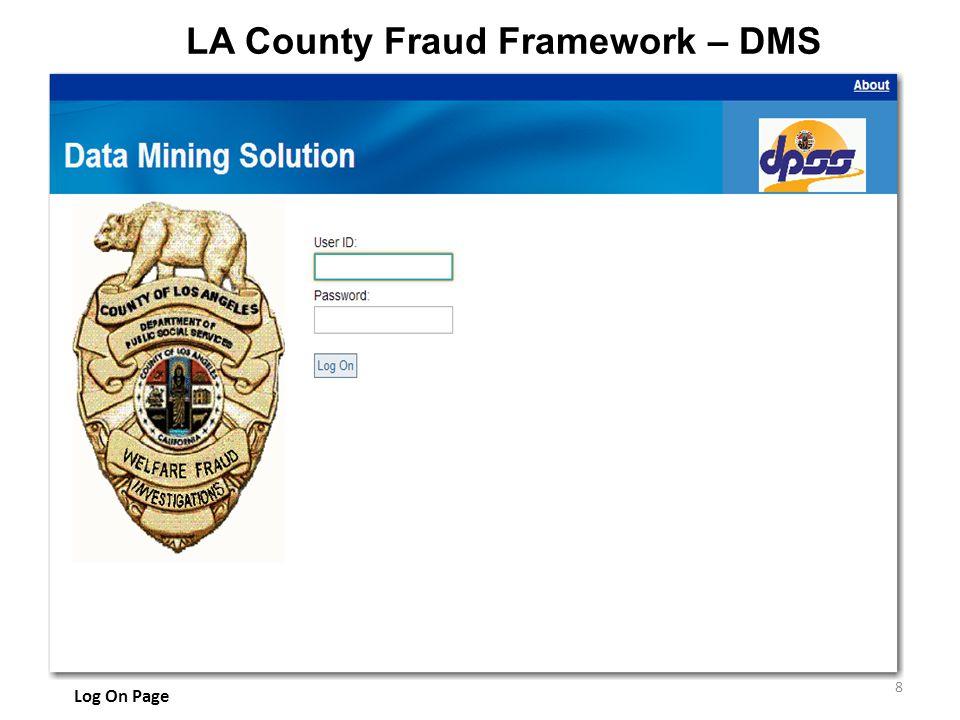 LA County Fraud Framework – DMS