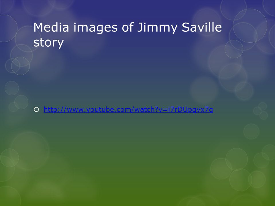 Media images of Jimmy Saville story