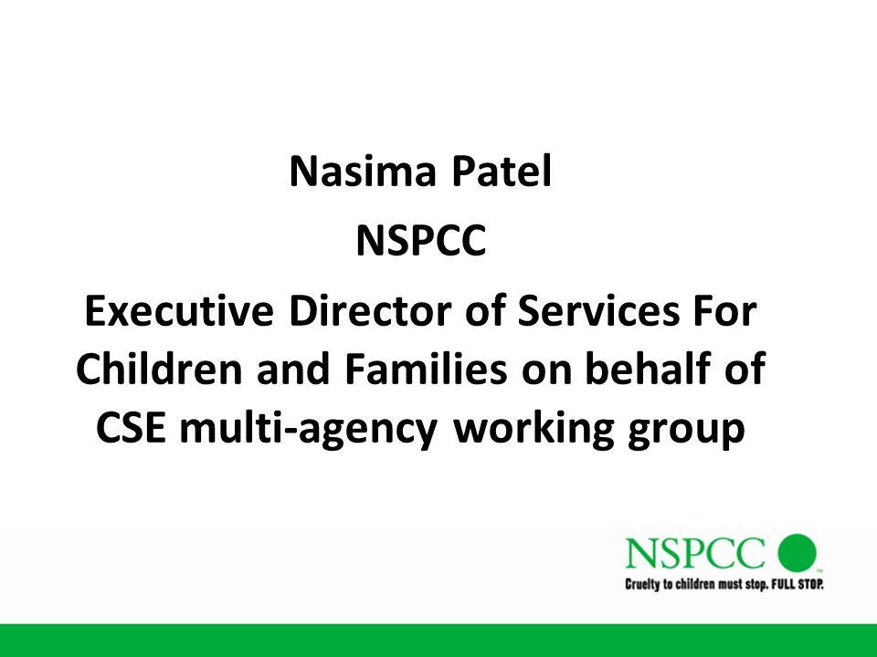 Nasima Patel NSPCC.
